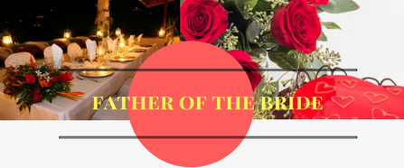 Getting Married  | Father of the Bride Speech Outline