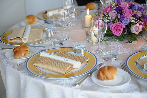 Wedding Photography Ideas - Picture of the Table